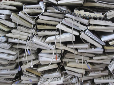 E-waste keyboards.JPG