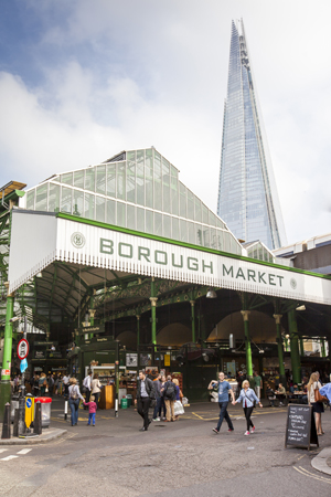 M7 Borough Market with Shard in background portrait