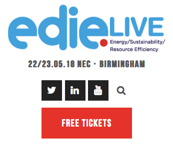 edie live 2018 free tickets button