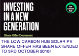 low carbon hub button copy