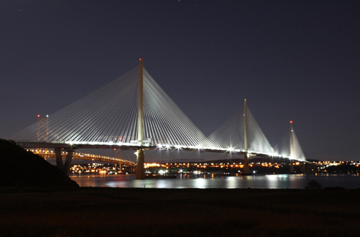thorn lighting Queensferry Crossing
