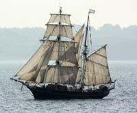 Ale by sail shipped from Devon to Brittany as engine-less cargo
