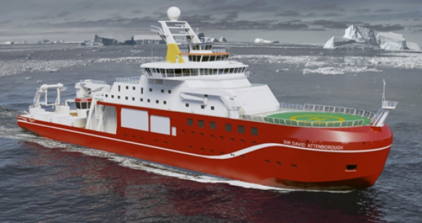 Birkenhead shipbuilders opt for eco hull coating on RRS Sir David Attenborough
