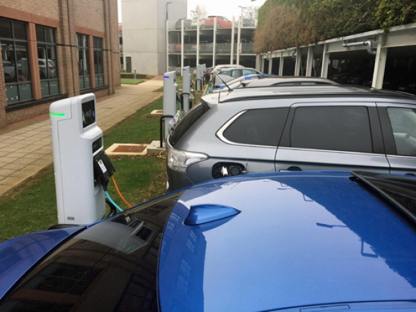 National Grid employees' electric vehicle uptake shows value of in-house charging
