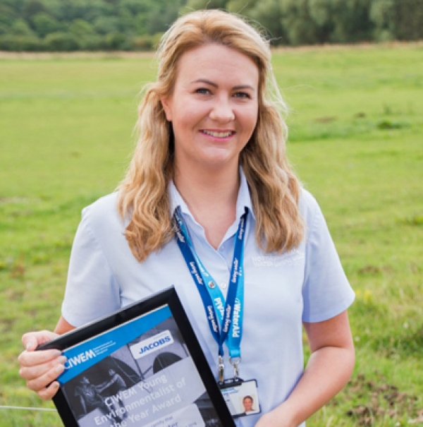 Water firm's Helen Allister rewarded for inspiring locals in pollution reporting