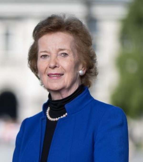 Kew honours Mary Robinson for work on food security and climate justice