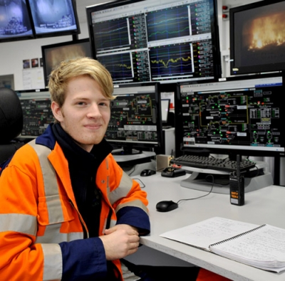 No university regrets for Mitch with his energy from waste apprenticeship
