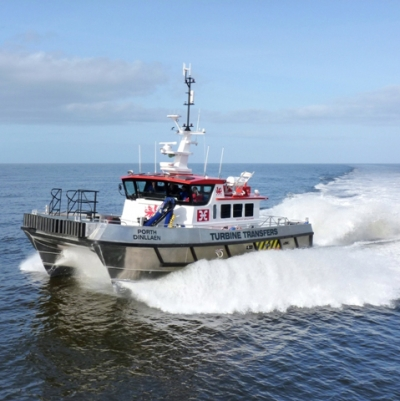 Wind farm boat saves cruise passenger's life in Mersey drama