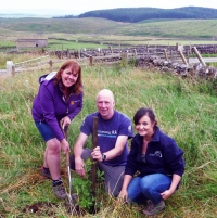 TeamWalking celebrate 10yrs planting Dales trees for each corporate customer