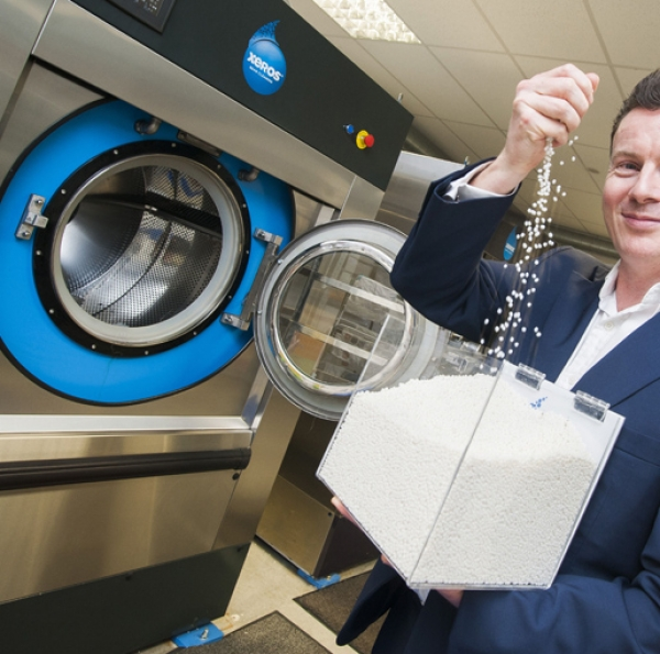 Laundries, hotels and spas can get funding to reduce water, energy & chemical use