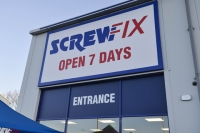 Screwfix Peterborough store first zero energy one in Kingfisher's estate