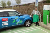 Electric car proves worth on British/Irish route 66 equivalent