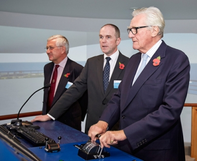 A splash for marine renewables as Heseltine opens simulation centre