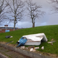 Don't get caught by firms who flytip your waste!