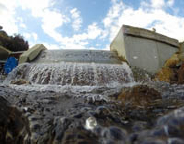 Welsh mountain stream hydro passes extreme build test for National Trust