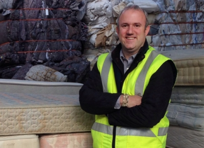 Boss of Furniture Recycling Group reviews the year and predicts 2018
