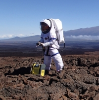 Simulated Mars mission analyses gases from astronaut rubbish
