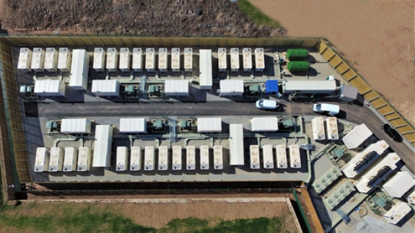 UK's largest battery balancing renewables for National Grid goes live