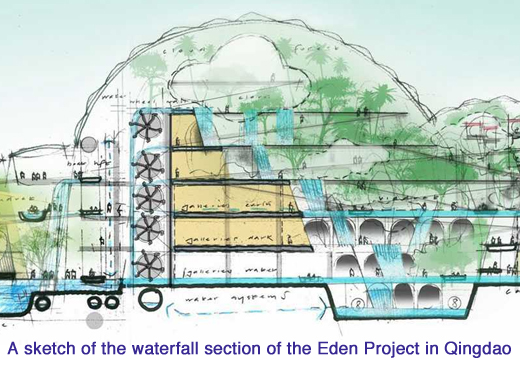 eden project china sketch