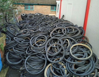 Bicycle and recycle - new firm set to tackle landfill-bound tyre and inner tubes